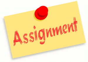 Assignments Week of 04/14