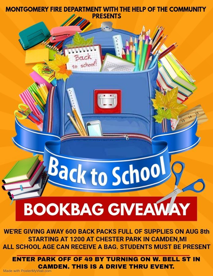 Book Bag Giveaway