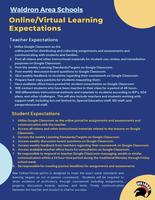 Online/Virtual Learning Expectations
