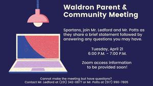 Parent & Community Meeting