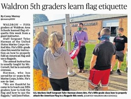 5th Grade Makes the Paper