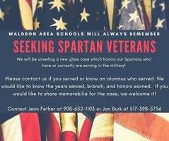 Seeking Spartan Vets!