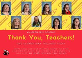 Teachers Appreciated!